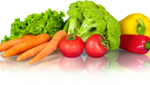 healthy fruit and vegetables